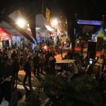 Suasana Pasar Malam Merdeka