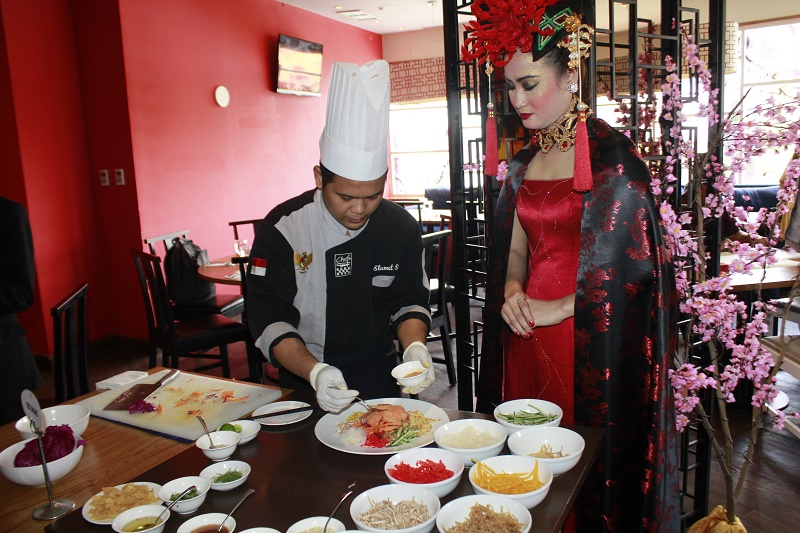 Menu imlek the sunan hotel solo