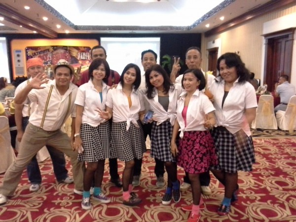 staff party the sunan hotel solo