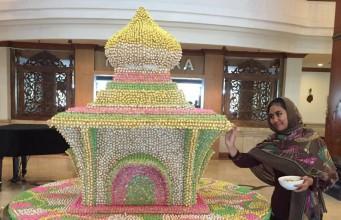 miniatur masjid the sunan hotel solo