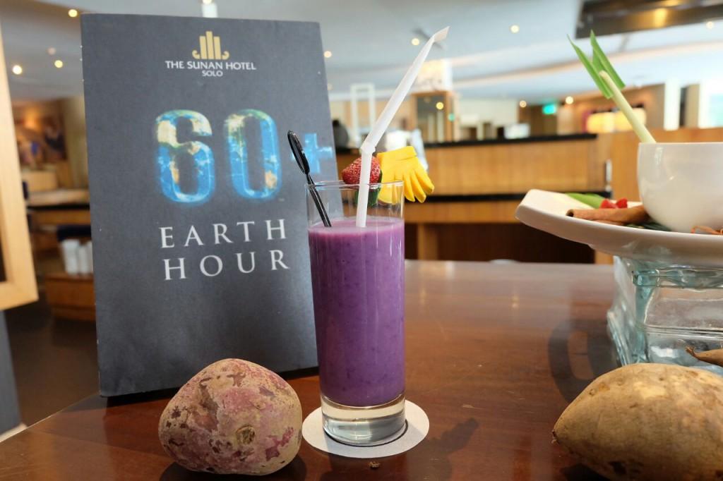 menu ramah lingkungan the sunan hotel solo