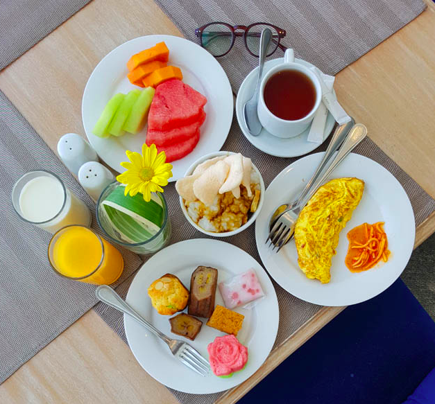 Breakfast The Sunan Hotel SOLO
