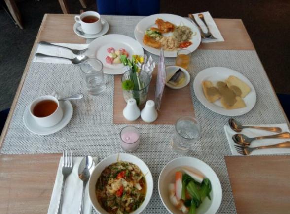 Sarapan pagi The Sunan Hotel Solo