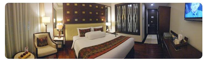 executive room the sunan hotel solo