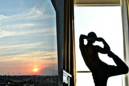 fachmi anhar at sunan hotel solo