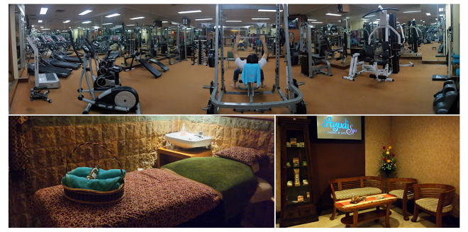 fitness center the sunan hotel solo