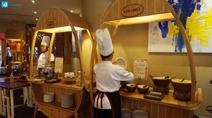 masakan solo di sunan hotel