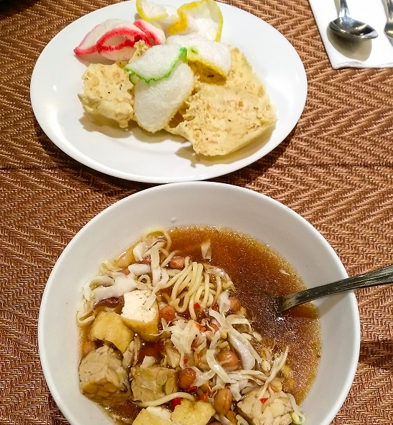 menu breakfast the sunan hotel solo