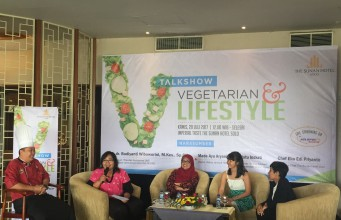 Talkshow vegetarian the sunan hotel