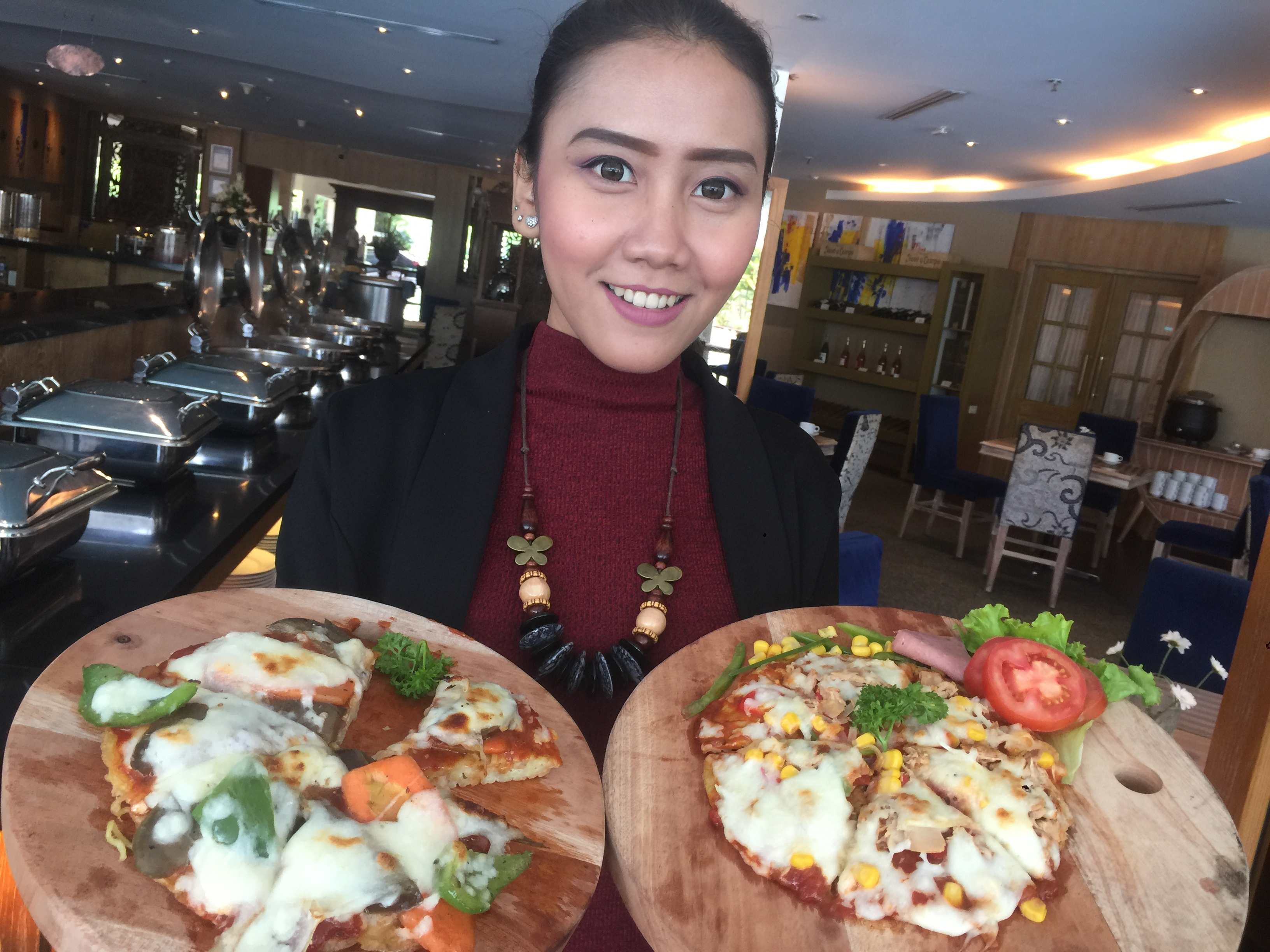 Ramen Pizza The Sunan Hotel Solo
