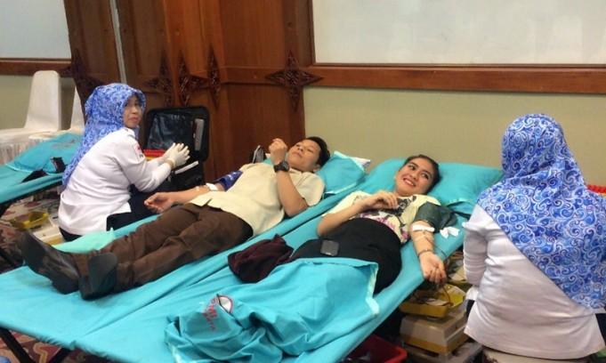 donor darah the sunan hotel solo