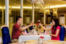 romantik dinner the sunan hotel solo