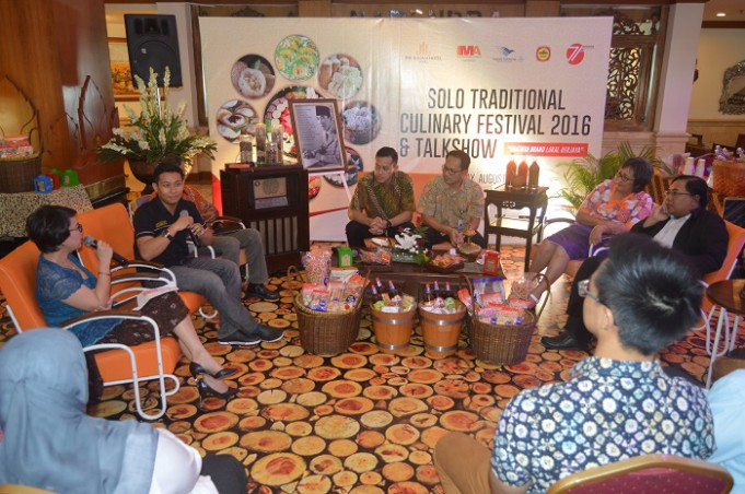 Solo Traditional Culinary Festival Talkshow