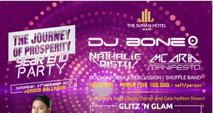 new year party the sunan hotel solo